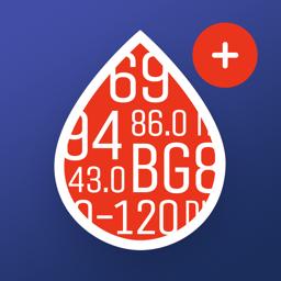 Ícone do app Glucose Buddy+: Diabetes