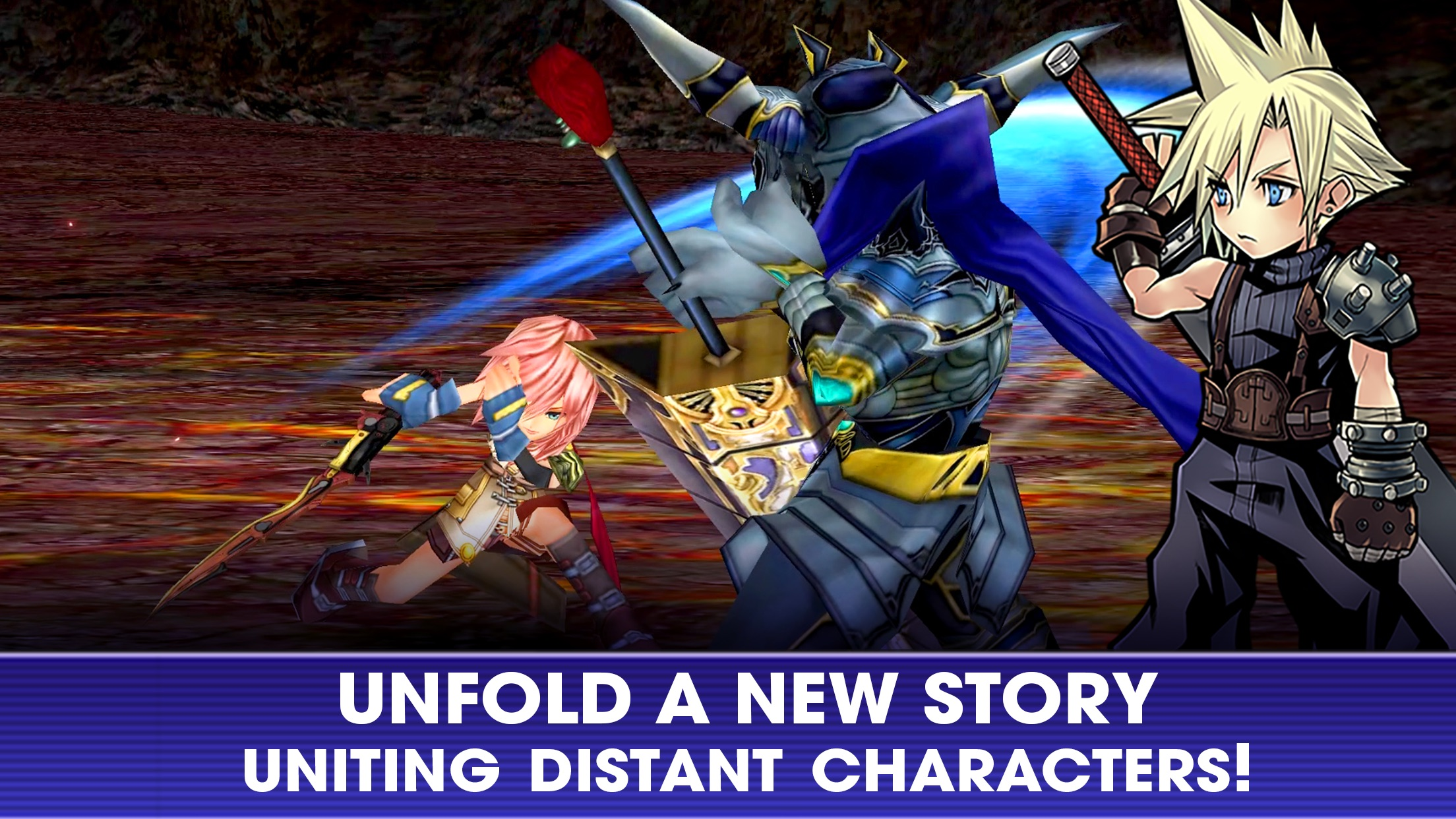 DISSIDIA FINAL FANTASY OO Screenshot