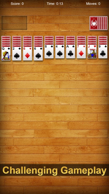 Spider Solitaire Pro ▻ screenshot-2