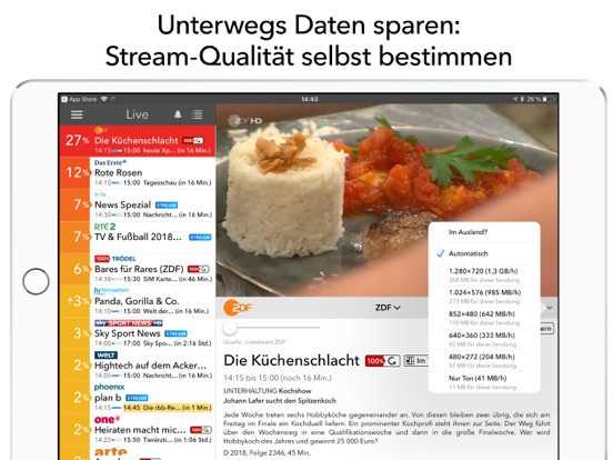 Live Tv Fernsehen By Live Tv Gmbh Ios United States Searchman