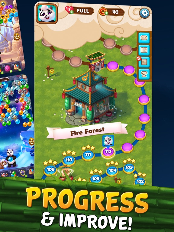 Bubble Shooter - Panda Pop! iPad app afbeelding 6