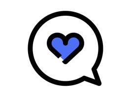Collection of 50 Love Stickers in Blue Field style that suitable for any message