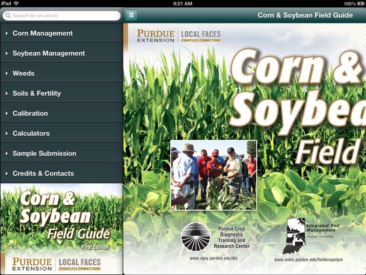 Purdue Corn & Soybean Guide
