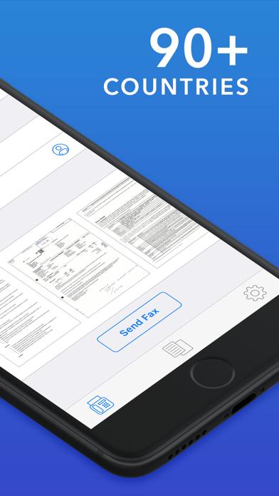 FAX: Send Fax from iPhone Screenshot