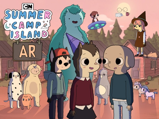 Summer Camp Island AR screenshot 6