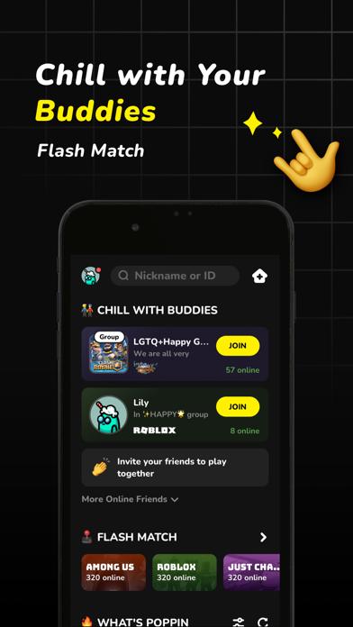 AmongChat - Chat vocal & Match