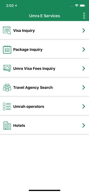 Umra e-services on the App Store