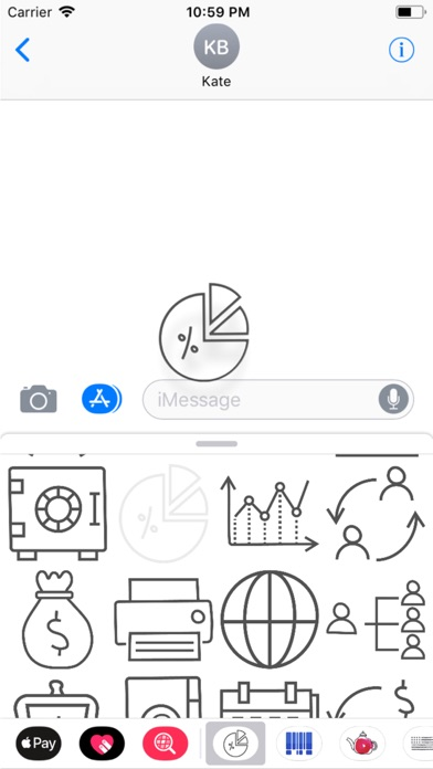 Finance Doodle Stickers screenshot four