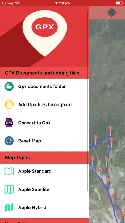 Gpx Viewer-Gpx Converter app screenshot-0