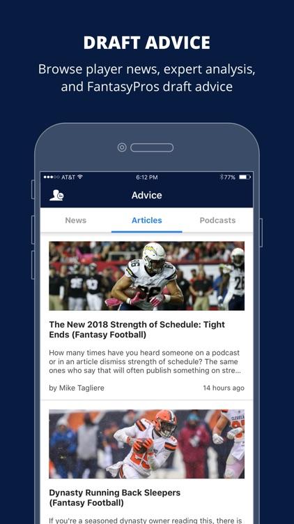 Fantasy Football Draft Wizard screenshot-5