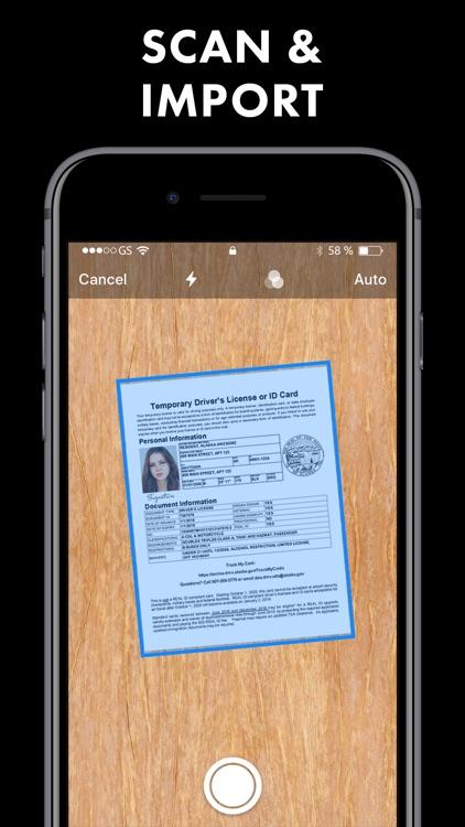 Fax app send fax on iPhone screenshot-3
