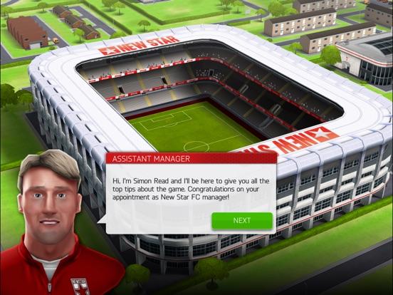 New Star Soccer Manager screenshot #2