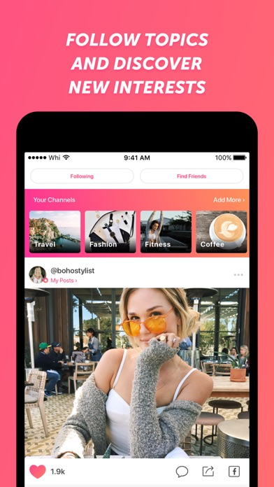 Screenshot for We Heart It in United States App Store