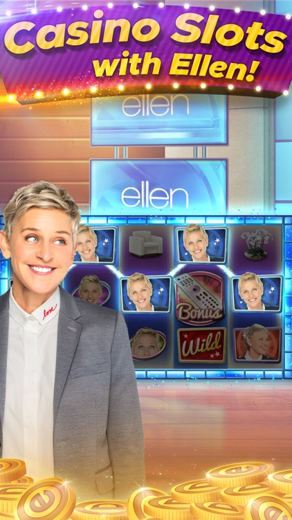 Ellen's Road to Riches Slots screenshot-0