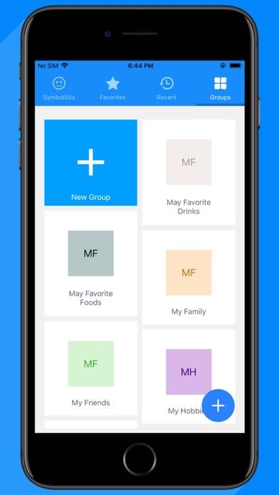 Screenshot of KarlSpeech App