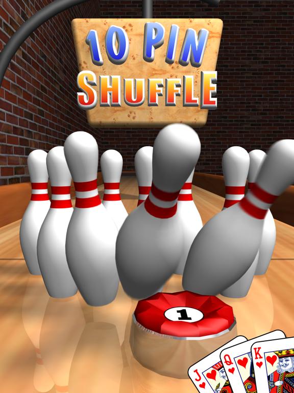 Ipad Screen Shot 10 Pin Shuffle Bowling 0