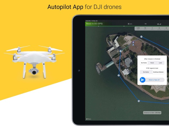 Copterus #1 Autopilot for DJI Screenshots