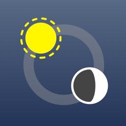 Sundial Sun & Moon Times