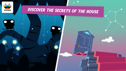Screenshot for Toca Mystery House in United States App Store