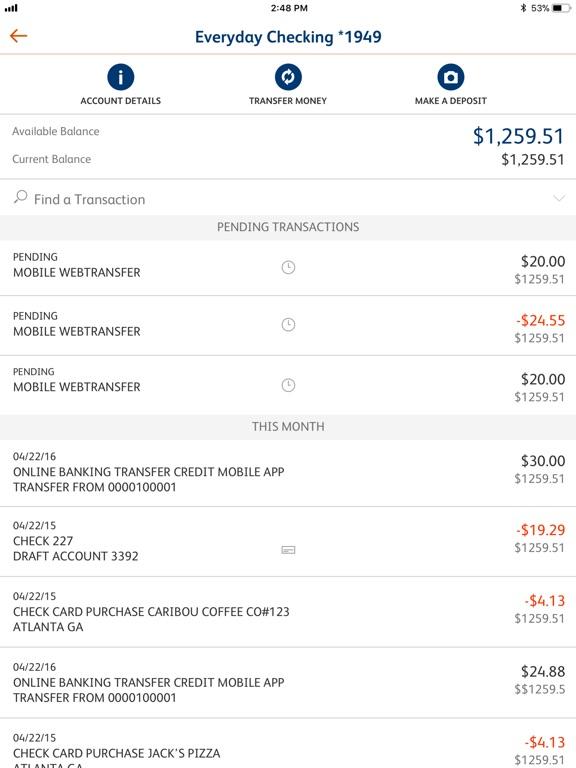 SunTrust Mobile App - AppRecs