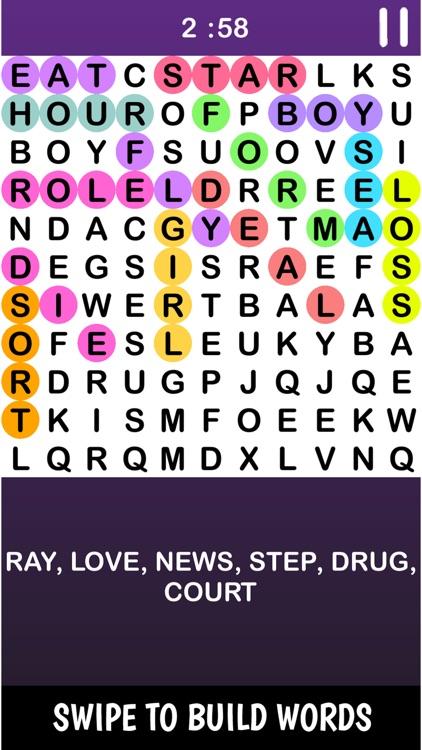 Infinte Crossword Puzzle Game