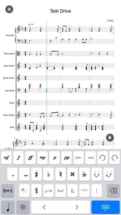 Composer Pro-Sheet Music Score screenshot-4