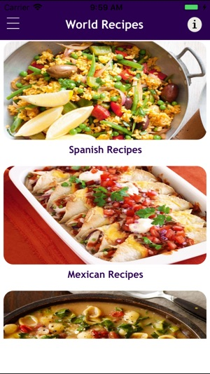 World food recipes cookbook on the app store iphone screenshots forumfinder Choice Image