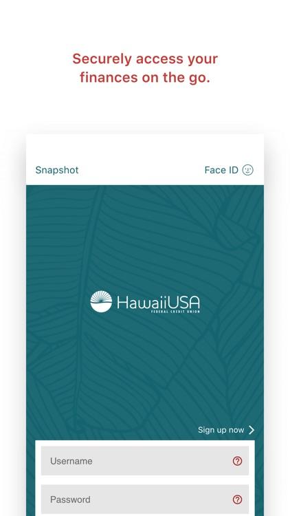 HawaiiUSA FCU Mobile Banking screenshot-3