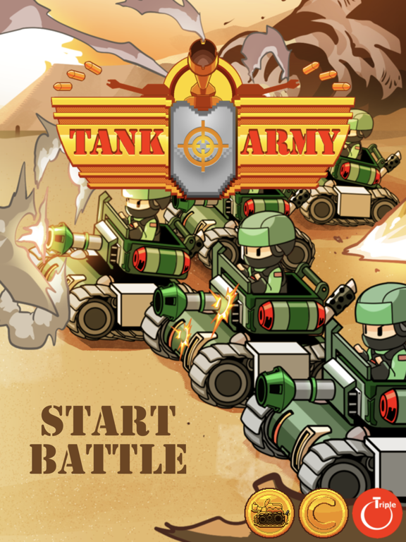 Tank Army - 高速アクション・シューティングゲームのおすすめ画像8