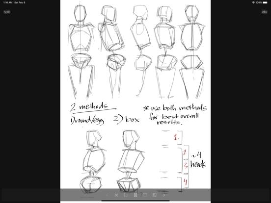 Gesture Drawing Practice Screenshots