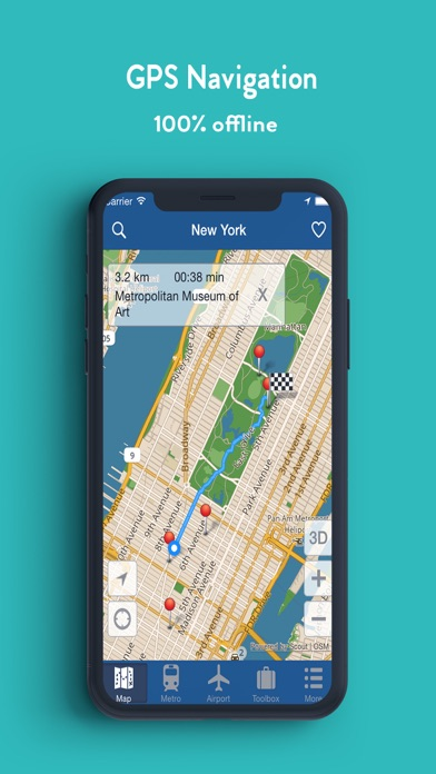 Iphone Map Of New York Offline.New York Offline Map By Green Lake Technology Ltd Ios United