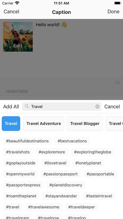 Preview: Planner for Instagram screenshot-3