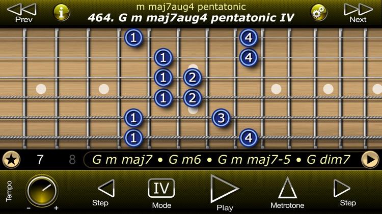 Guitar Modal Pentatonic Scales screenshot-5