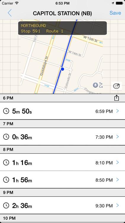 Transit Tracker - Austin