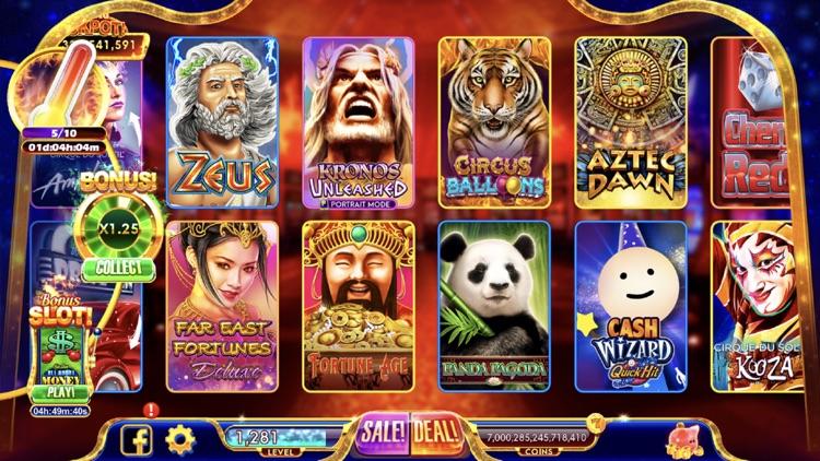 Hot Shot Casino Slots Games screenshot-0