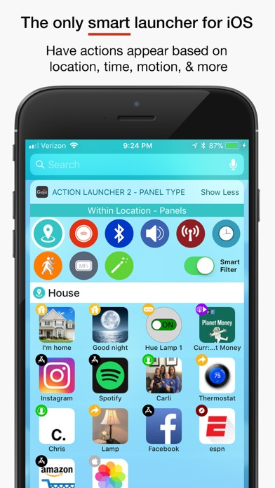 Gidjit - Smart Launcher Screenshots