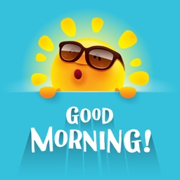 Good Morning Wishes Sticker IM