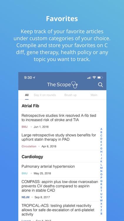 The Scope App