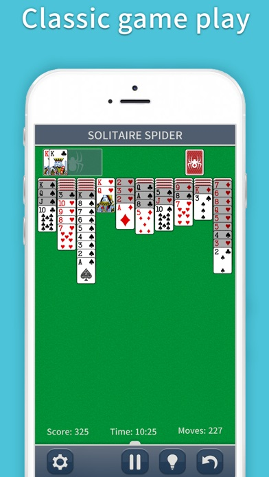 Spider Solitaire Classic Pro Screenshots