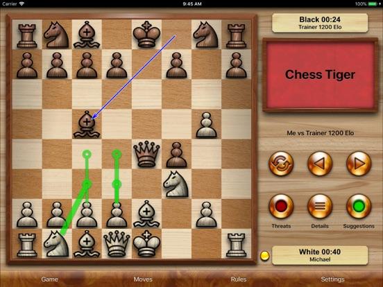 Chess Tiger на iPad