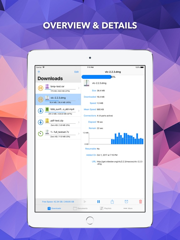 EDM - Browse and Receive Files IPA Cracked for iOS Free Download