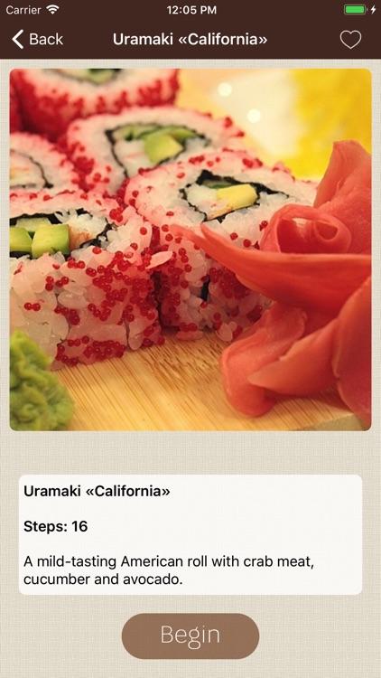 Sushi Recipes Cookbook