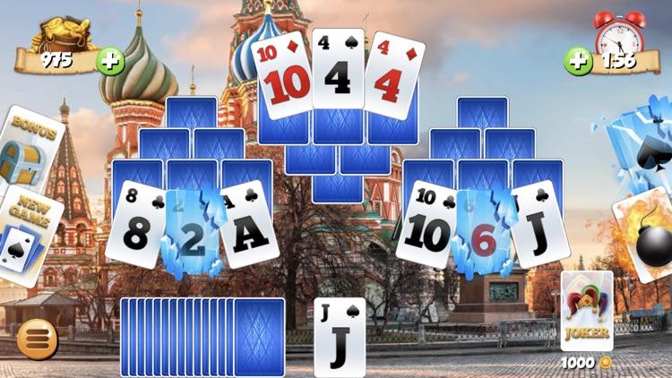 Tri Peaks Solitaire Card Games screenshot-6