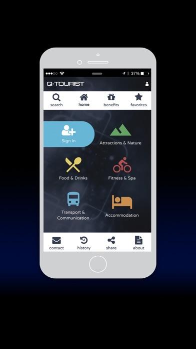 Qtourist screenshot one
