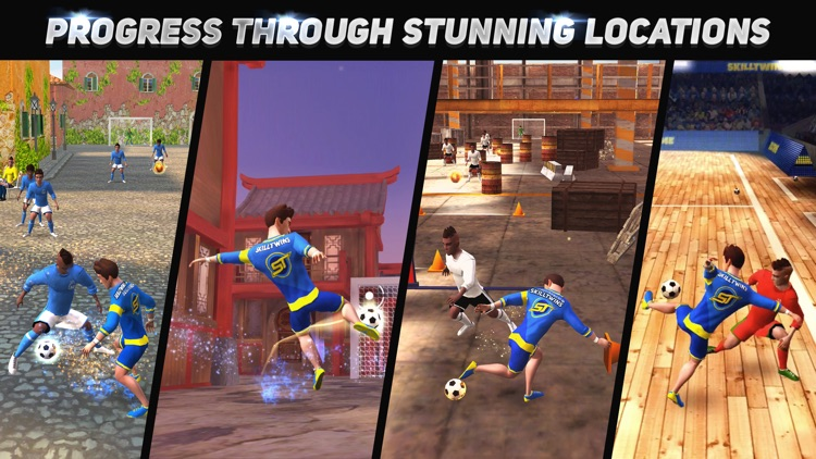 SkillTwins Football Game 2 screenshot-3