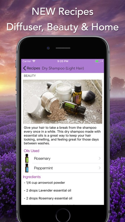 Essential Oils for doTERRA screenshot-2