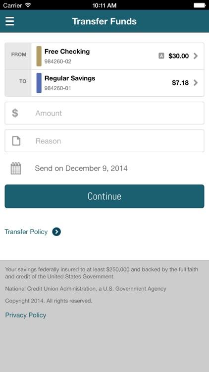 Advantis Credit Union Mobile screenshot-3