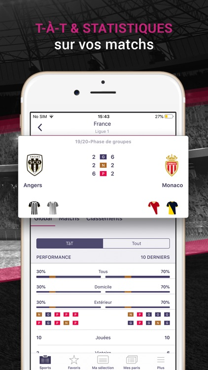 VBET Paris Sportifs En Ligne screenshot-5