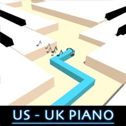Dancing US UK Line