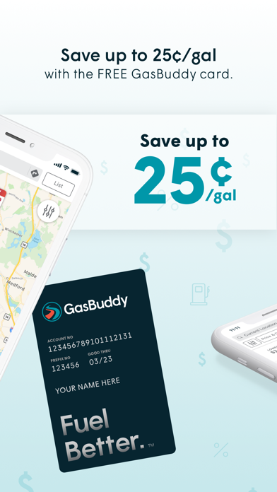 Screenshot of GasBuddy: Find & Pay for Gas App